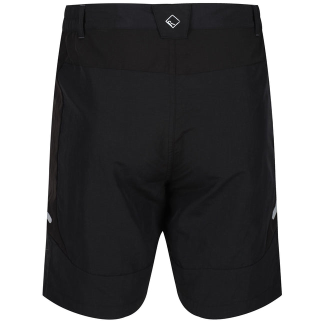 Black - Pack Shot - Regatta Mens Sungari II Walking Shorts