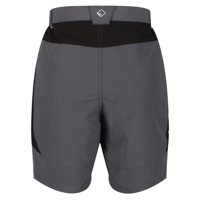 Black - Front - Regatta Mens Sungari II Walking Shorts