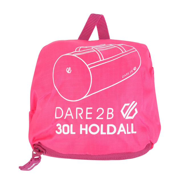Cyber Pink - Back - Dare 2B 7.9 Gallon Packable Holdall Bag