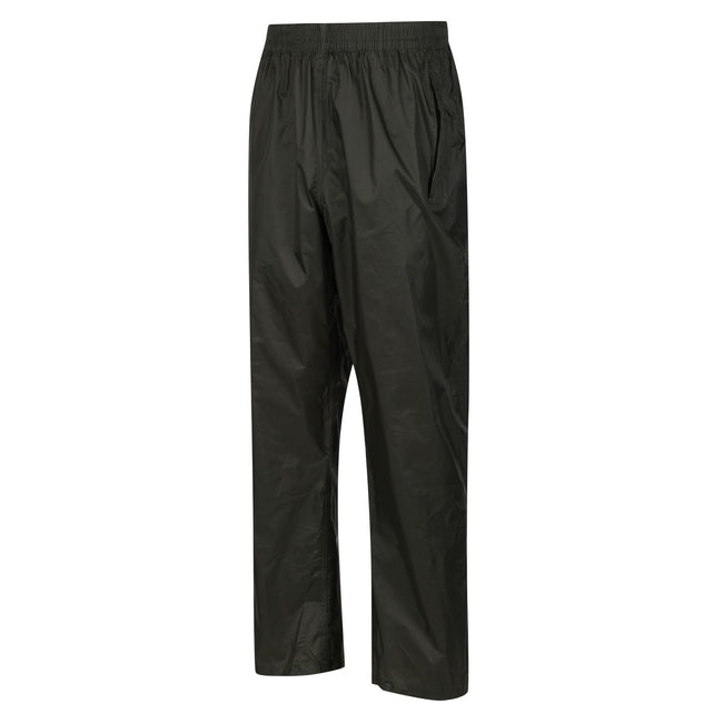 Bayleaf - Front - Regatta Great Outdoors Mens Classic Pack It Waterproof Overtrousers