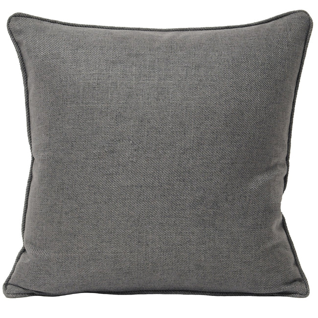 Grey - Front - Riva Home Atlantic Cushion Cover (Cushion Pad Not Included)