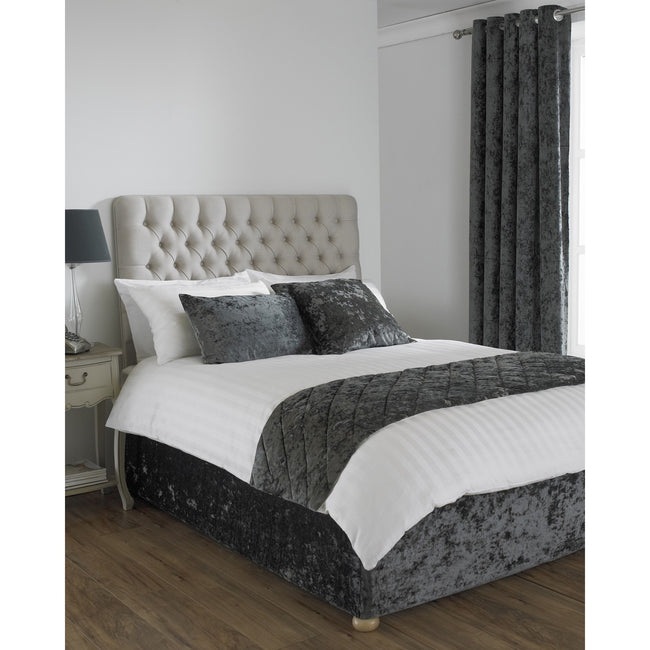 Pewter - Front - Riva Home Verona Bed Wrap