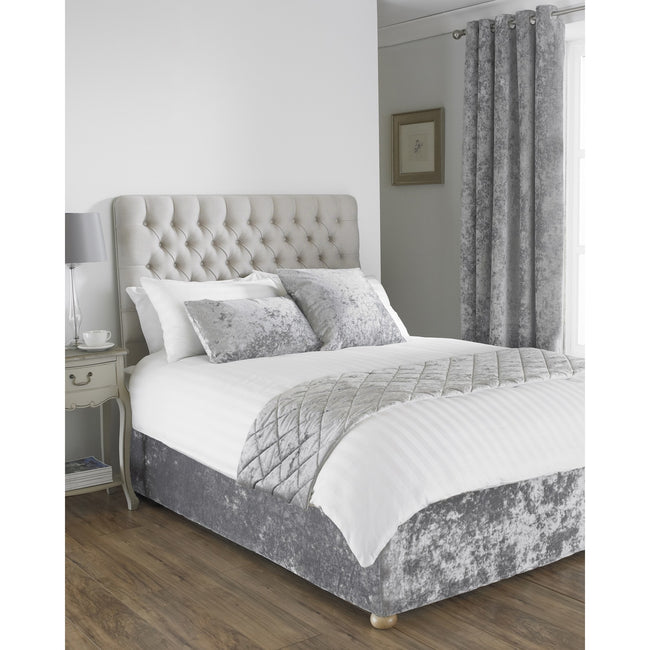 Silver - Front - Riva Home Verona Bed Wrap