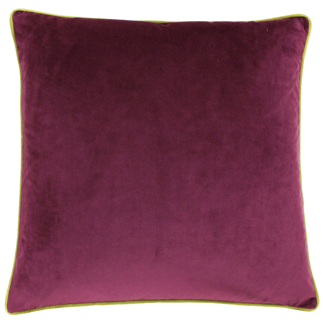 Maroon-Moss - Front - Paoletti Meridian Cushion Cover