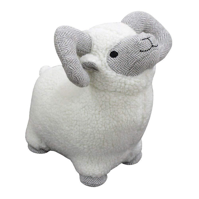 Gray - Front - Riva Home Ram Doorstop
