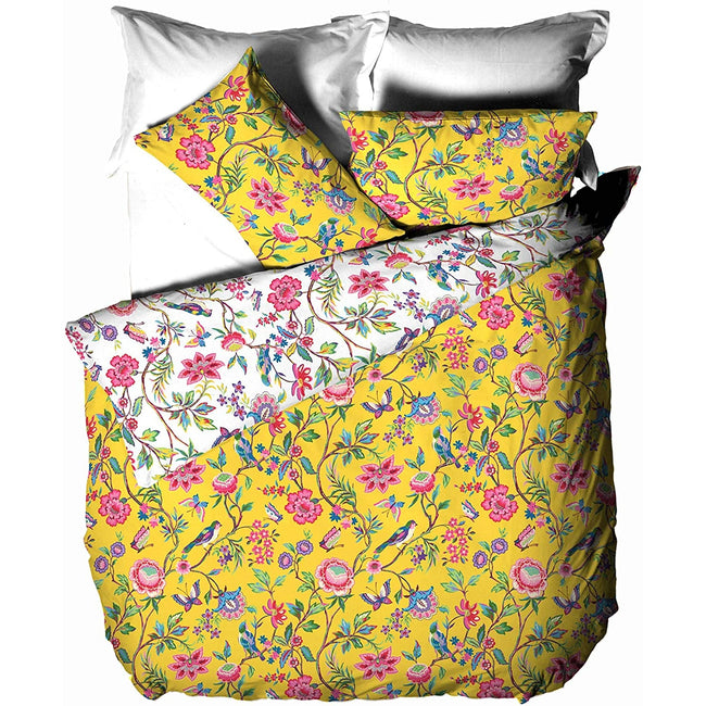 Yellow - Front - Creative Cloth Pomelo Duvet Cover Set