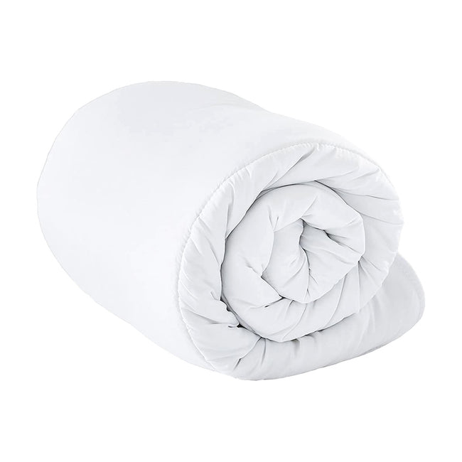 White - Front - Riva Home Hollowfibre 10.5 Tog Quilt