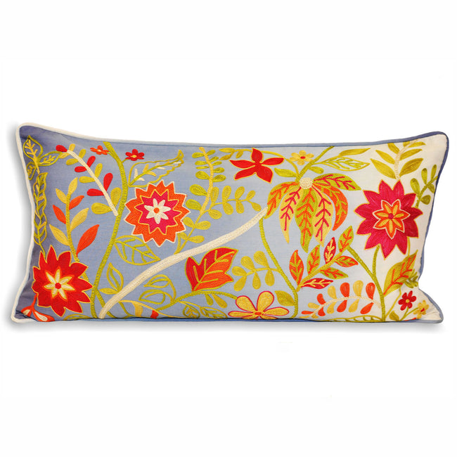 Multi - Front - Riva Home Indian Collection Juliette Cushion Cover