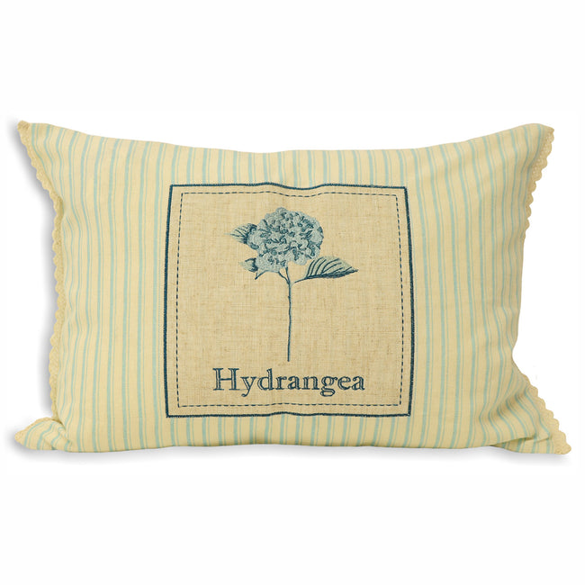 Blue - Front - Riva Home Secret Garden Hydrangea Cushion Cover