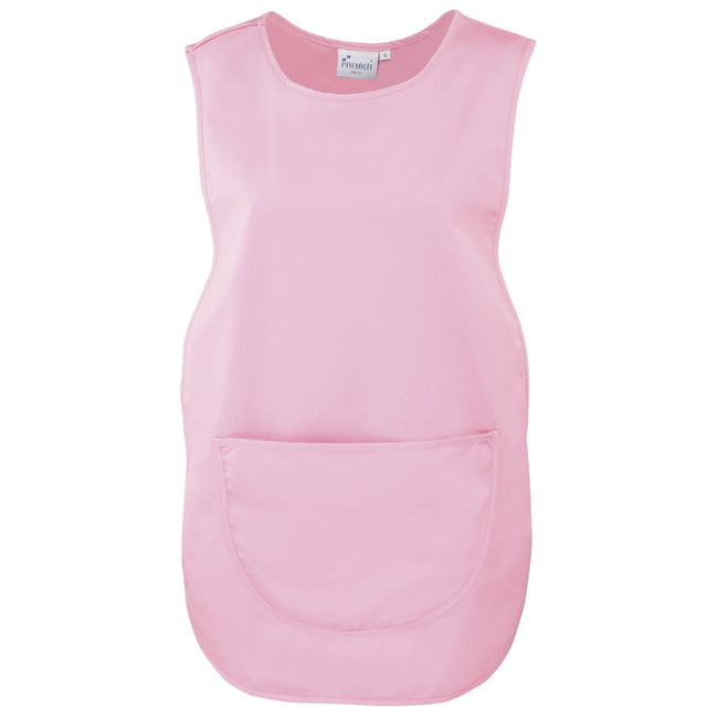 Pink - Front - Premier Ladies-Womens Pocket Tabard-Workwear