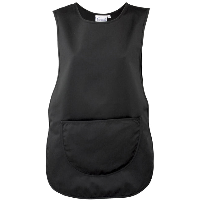 Black - Front - Premier Ladies-Womens Pocket Tabard-Workwear