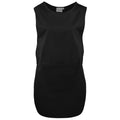 Black - Front - Premier Ladies-Womens Long Length Pocket Tabard-Workwear