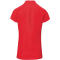 Strawberry Red - Back - Premier Ladies-Womens *Blossom* Tunic-Health Beauty & Spa-Workwear