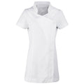 White - Front - Premier Ladies-Womens *Blossom* Tunic-Health Beauty & Spa-Workwear