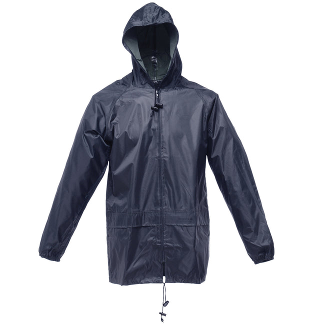 Navy - Front - Regatta Mens Stormbreak Waterproof Windproof Performance Jacket