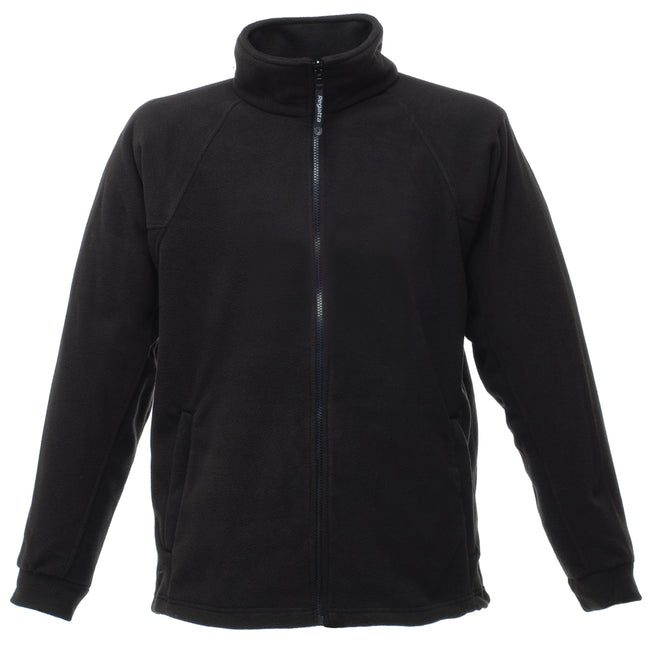 Black - Front - Regatta Mens Thor III Anti-Pill Fleece Jacket
