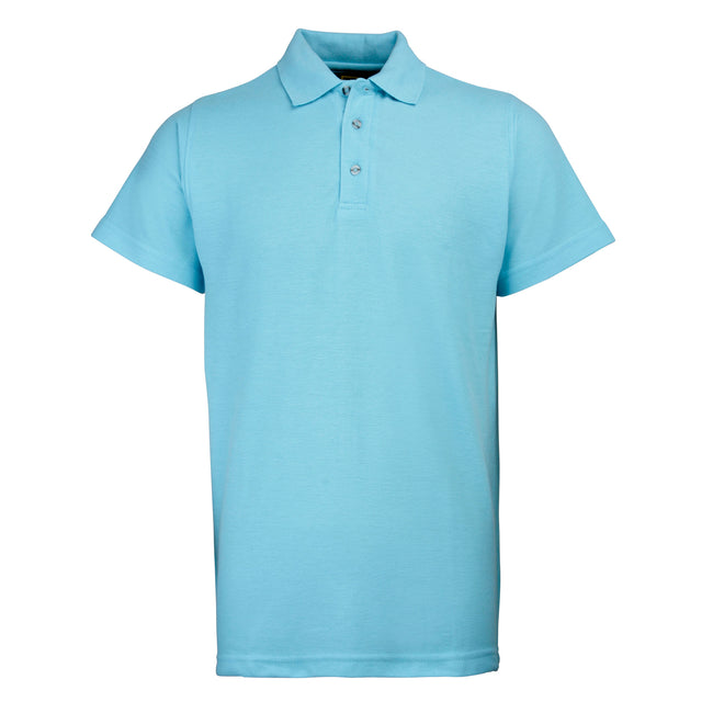 Emerald - Front - RTY Workwear Mens Pique Knit Heavyweight Polo Shirt (S-10XL) - Extra Large Sizes