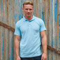 Navy - Front - RTY Workwear Mens Pique Knit Heavyweight Polo Shirt (S-10XL) - Extra Large Sizes