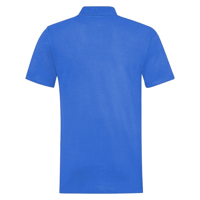 Raspberry - Front - RTY Workwear Mens Pique Knit Heavyweight Polo Shirt (S-10XL) - Extra Large Sizes