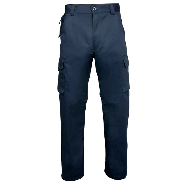 Navy - Front - RTY Workwear Mens Premium Work Trousers - Pants