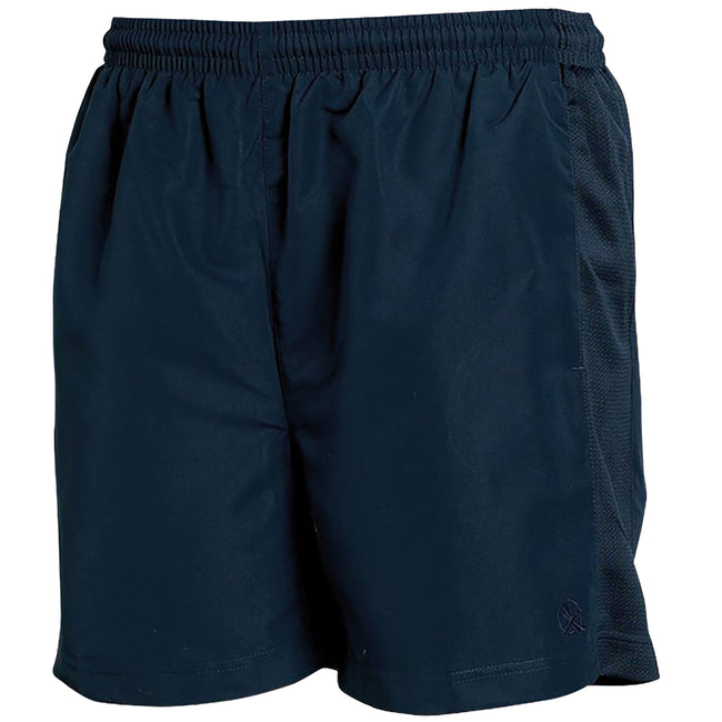 Navy - Front - Tombo Teamsport Mens Lined Performance Sports Shorts
