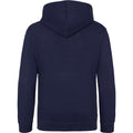 Oxford Navy - Back - Awdis Kids Unisex Hooded Sweatshirt - Hoodie - Schoolwear