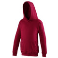 Red Hot Chilli - Front - Awdis Kids Unisex Hooded Sweatshirt - Hoodie - Schoolwear