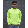 Electric Green - Back - Awdis Mens Electric Sweatshirt