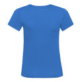 Sapphire Blue - Back - AWDis Cool V Neck Girlie Cool Short Sleeve T-Shirt