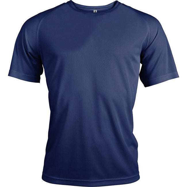 Navy - Front - Kariban Mens Proact Sports - Training T-Shirt
