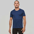 Navy - Back - Kariban Mens Proact Sports - Training T-Shirt