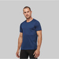 Navy - Side - Kariban Mens Proact Sports - Training T-Shirt