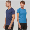Navy - Lifestyle - Kariban Mens Proact Sports - Training T-Shirt