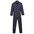 Navy - Front - Portwest Mens Liverpool Zip Up Protective Workwear Coverall