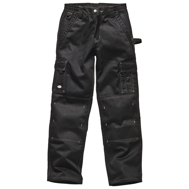 Black - Back - Dickies Mens Industry 300 Two-Tone Work Trousers (Regular And Tall) - Workwear