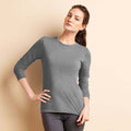 Sport Grey - Back - Gildan Womens-Ladies Performance Freshcare Long Sleeve T-Shirt
