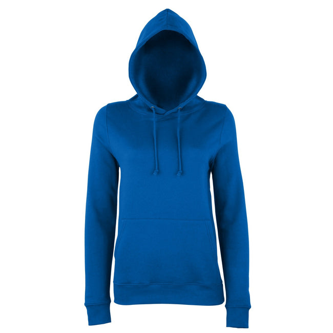 Royal Blue - Front - AWDis Just Hoods Womens-Ladies Girlie College Pullover Hoodie