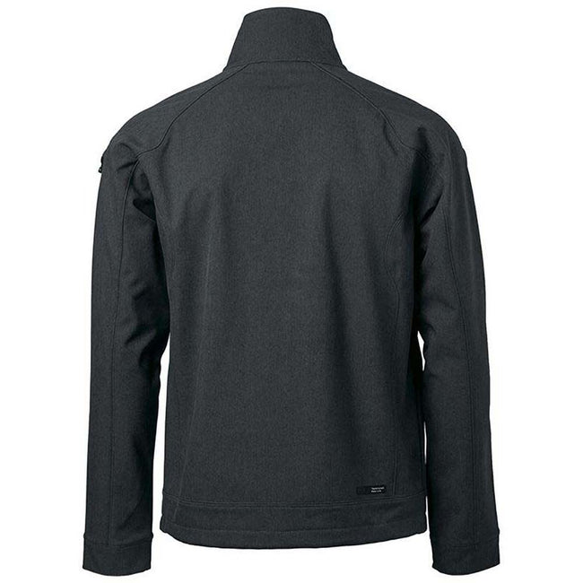 Black - Back - Nimbus Mens Duxbury Softshell Jacket