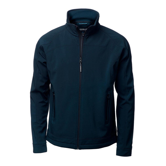 Charcoal - Front - Nimbus Mens Duxbury Softshell Jacket