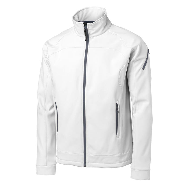 White - Front - Nimbus Mens Duxbury Softshell Jacket
