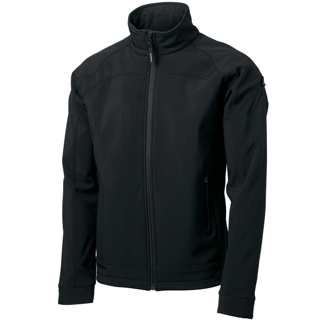 Black - Front - Nimbus Mens Duxbury Softshell Jacket