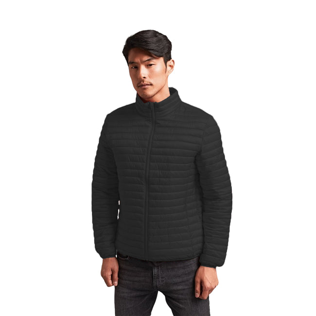 Bright Yellow - Front - 2786 Mens Tribe Fineline Padded Jacket