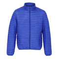 Aubergine - Front - 2786 Mens Tribe Fineline Padded Jacket