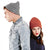 Moss Green - Front - Beechfield Unisex Chunky Ribbed Winter Beanie Hat