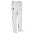 Ivory - Front - Gray-Nicolls Children-Kids Matrix Cricket Trousers
