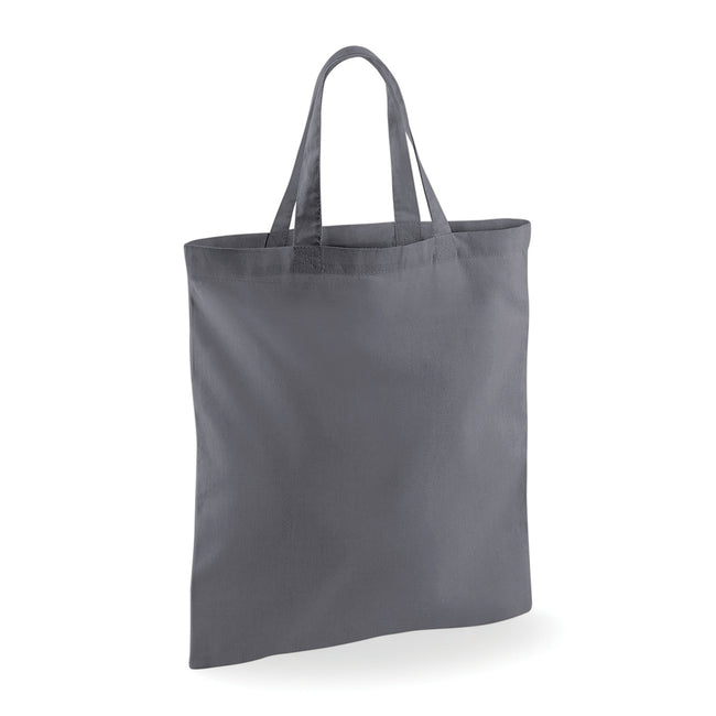 Graphite Gray - Front - Westford Mill Short Handle Bag For Life