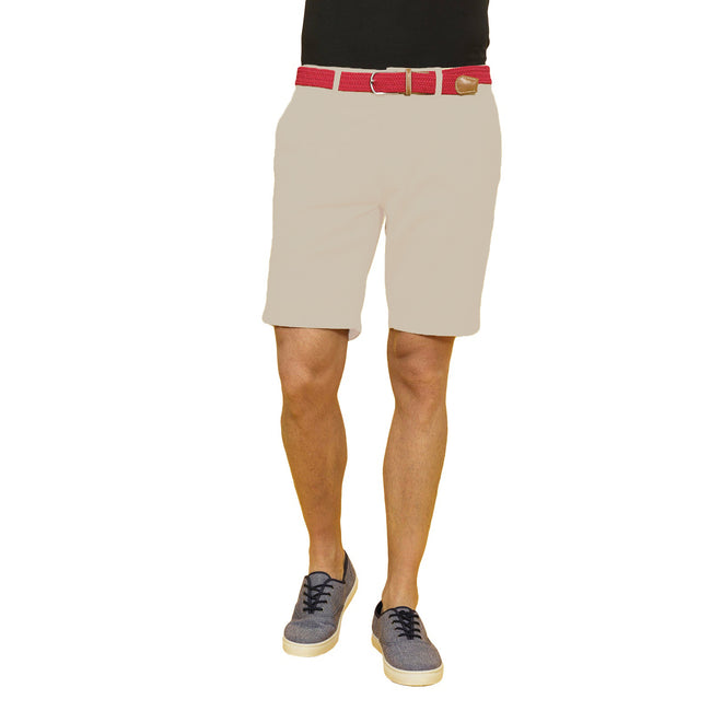 Black - Front - Asquith & Fox Mens Casual Chino Shorts