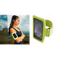 Lightning Yellow - Side - Tri Dri Fitness Armband Mobile Phone-Cellphone Holder