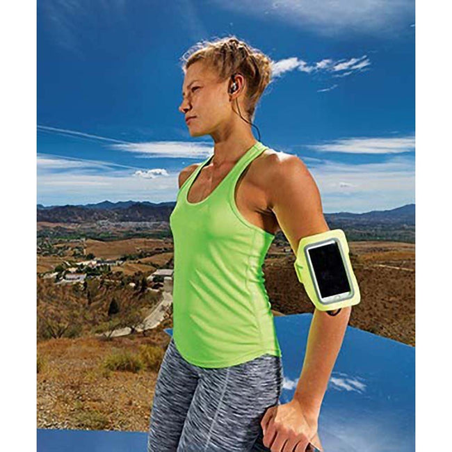 Lightning Yellow - Lifestyle - Tri Dri Fitness Armband Mobile Phone-Cellphone Holder