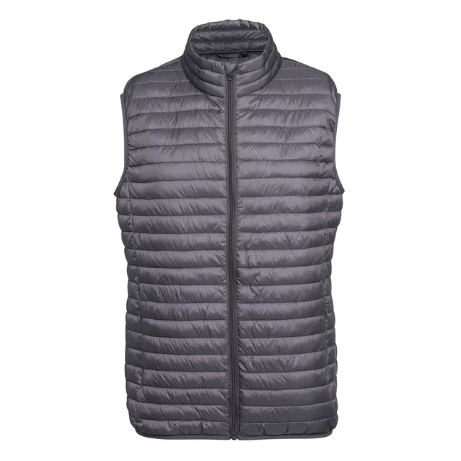 Bright Yellow - Side - 2786 Mens Tribe Fineline Padded Gilet-Bodywarmer